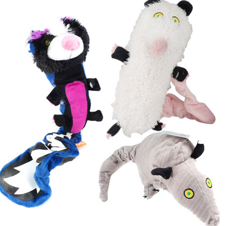 Backyard Pests Plush Squeaker Toys