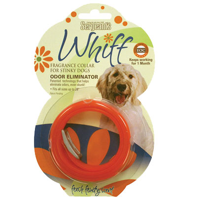 Sergeant's - Whiff Odor Eliminating Collar 2 Pack - SHIPS FREE