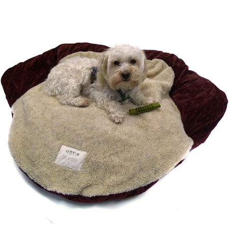 Orvis Sherpa Top 'Add Your Own Stuffing' Dog Bed