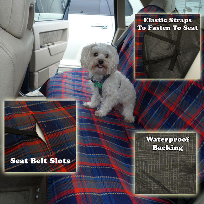 Pet Car Seat Blanket Cover - Fits Cars, Trucks and SUVs