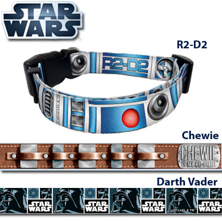 Star Wars Collars - May The Force Be With You AND Your Dog!